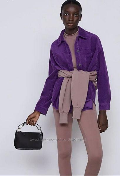 Куртка рубашка вельветовая Zara