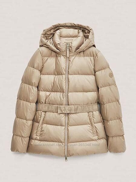 Скидка Новая пуховая демисезонная куртка Massimo Dutti. Размер L