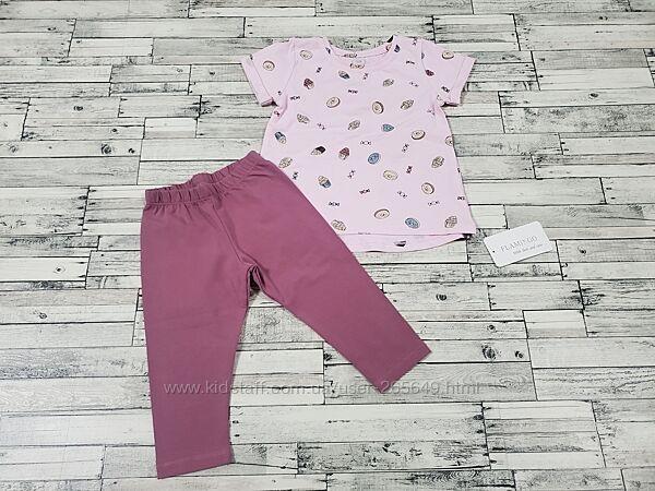 Милый костюмчик Фламинго р.92-116