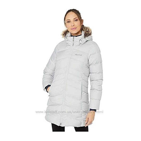 Пальто пуховик Marmot Montreal с капюшоном разм M