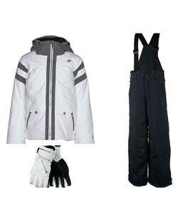 Куртка полукомбинезон перчатки Obermeyer разм XL подростковый рост до 170см