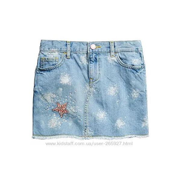Джинсовая юбка Guess разм 16 подростковый на 10-14 лет рост 152-168 см