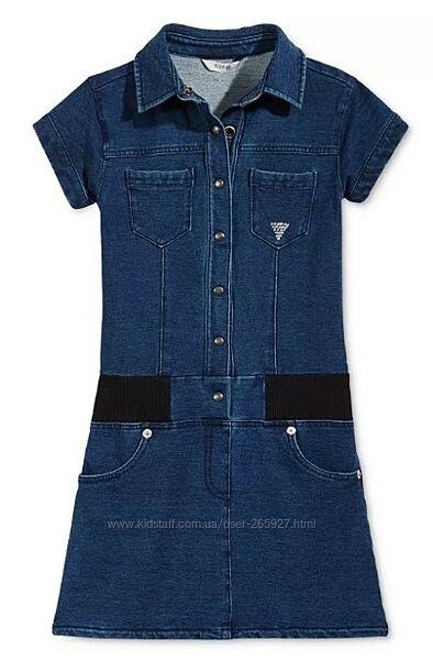 Джинсовое платье Guess разм 16 подростковый на 10-14 лет рост 152-166 см