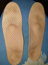 Стелька ортопедическая с супинатором для детской обуви 36 размер