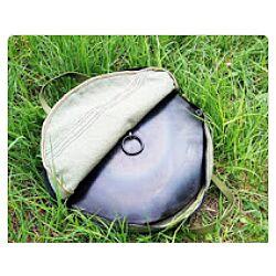 Сковорода из диска бороны 40см с крышкой и чехлом в комплекте
