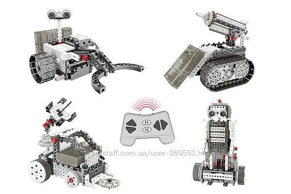 Конструктор STEM с пультом HIQ R732 4в1 253 детали луноходы