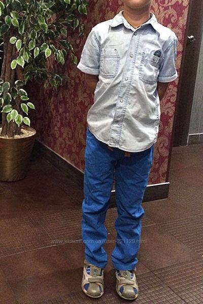 Рубашка 6-7 лет хлопок