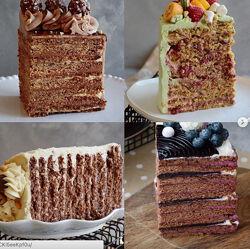 Курс по многослойным тортам Юлия Залесских