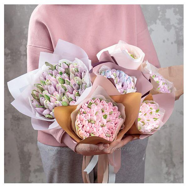 Зефирные тюльпаны malinovka-tort