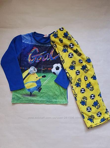 Пижама флис Disney 104-110р