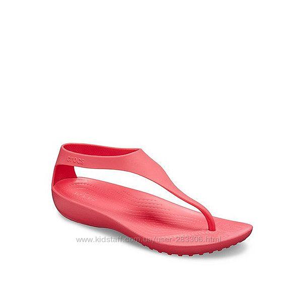 Босоножки Crocs Serena Flip Sandals Women стелька 25см