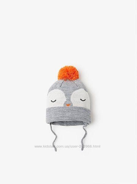 Зимняя шапочка Zara р.1.5-3 года