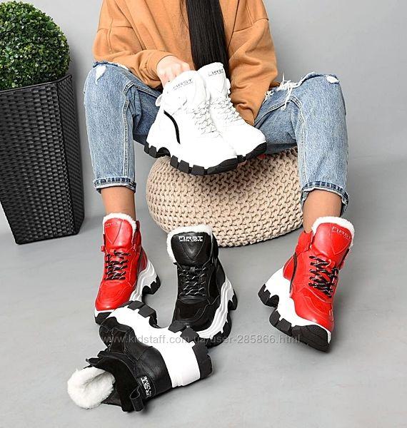 р.36-40 Натуральные зимние кроссовки кросовки. Расцветки в ассортименте