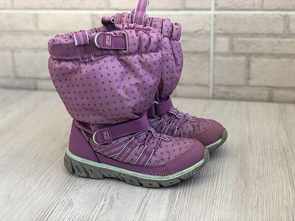 Зимові чоботи Stride rite,30 р. ,дівч