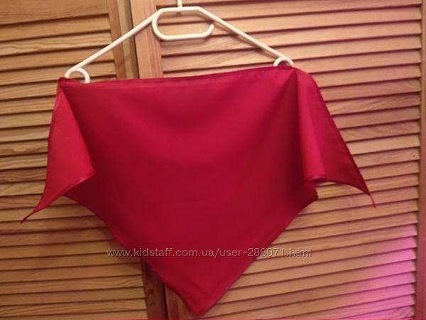 Косынка красная платок бандана